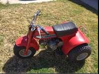 Very clean and original Honda ATC 70. Willing to trade