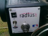Atec radius pitching machine...will throw 3