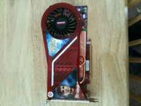 Up for sale is a HD3870 Radeon PCI-E video card. It has