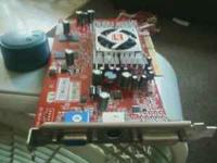 hi i am selling a great working ati radeon 9600 video