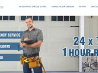 We serve garage door repair and installation services
