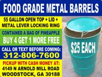 Very popular barrels --- we sell about 25 of these