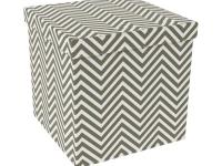 Atlantic Ottoman is a cube shaped design inspired
