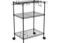 Atlantic, Inc. 45506144, The 3-Tier Game Cart is