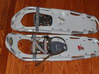 These Atlas 730 FTC snowshoes are in like new condition