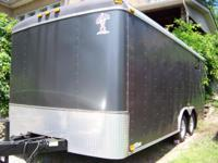 This 18ft easy to tow car hauler can be used as a