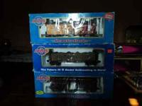 Atlas O Model Trains total of three cars. All in