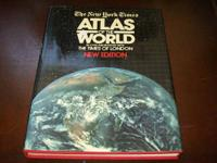 ATLAS OF THE WORLD BY NEW YORK TIMES NEW EDITION HARD