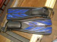 Atomic Aquatic Split Fin Propeller Fins. These high