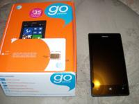 Nokia 520 ATT gohone like new in box-$75firm, SIM card