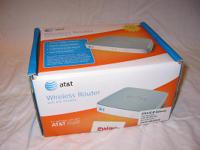 This is a like new ATT Wireless Router with DSL Modem.