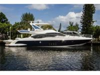Description Immaculate 64' Azimut M/Y Every Option /