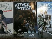 Three great Manga's for the price of one!!! Two Attack