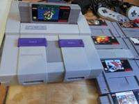 YES I said a Super Nintendo in great shape , works