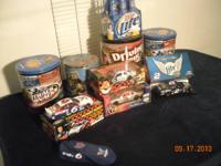 For sale are some Nascar collectables. Mark Martin #6