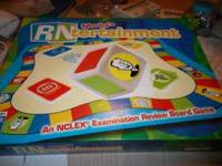 I have a RN Mosby's NCLEX review board game that will