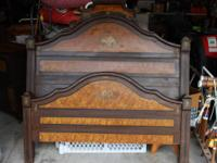 For sale is an antique bed room set Mfg., by John D