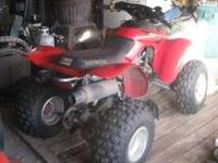 ATV-2004 Honda All Terrain, 300EX, 400 Suspension, low