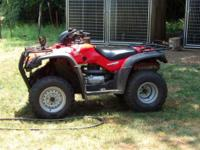 2005 Honda Rancher 350 ES 2wd. Excellent Condition.