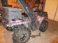 Only 2047 miles, 2500 lbs warn winch kit, front and