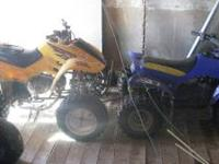 ATV-2002 Honda-90 Sportrax, 300 Suspension, Good