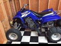 Year 2002  Yamaha Raptor 660 it has a big gun