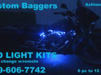 SET TO ANY COLOR! on YOUR ATV 6 PC KIT  Use remote to