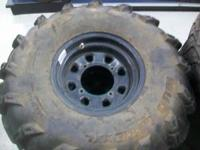 itp mud lite xxl 30x10-12 tires on polaris rims in