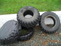 I have four used ATV tires that are in fair