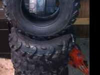 Maxxis Atv tires 2-25x10x12 2-25x8x12 new tires $300