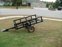 6' X 3' heavy duty yard trailer. It works great for