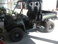 2011 John Deere 825i XUV Utility Vehicles. Starting at