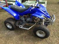 This is 2008 Yamaha Raptor 250. Runs great, very fast.