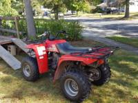 ATV YAMAHA 250 with trailer and equipment Model: