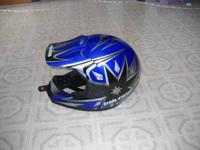 DOT approved helmet for sale. Size medium, only used a