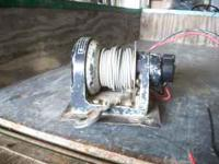 used ramsey wonder winch RW2500. works fine  Location: