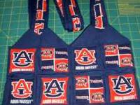 "NEW AUBURN BAG For Sell All Hand Sewed, 9"" tall 24"""
