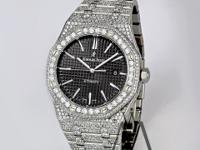 Custom DIAMONDS AP Audemars Piguet Royal Oak 41