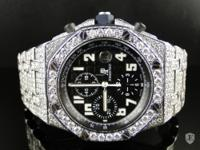 A Customized Audemars Piguet Royal Oak Offshore diamond