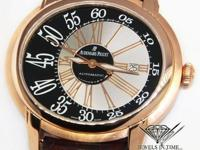 Audemars Piguet Millenary 18k Rose Gold Mens Watch