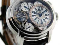 For its public launch, the new escapement by Audemars