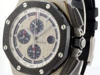 Audemars Piguet NEW Royal Oak Offshore Chronograph Mens