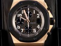 Pre-owned Audemars Piguet Rose Gold Royal Oak Offshore
