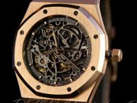 Unworn Audemars Piguet Rose Gold Royal Oak Openworked