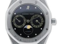 Bracelet: 18k White Gold Dial: Black Chronograph