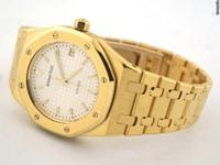 Audemars Piguet Royal Oak Automatic 18k Yellow Gold