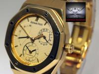 Audemars Piguet Royal Oak Dual Time Power Reserve 18k