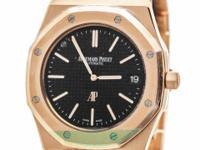 Audemars Piguet Royal Oak Extra Thin Watch in 18K Rose