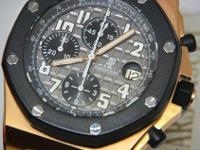 Audemars Piguet Royal Oak Offshore Chronograph 18k Gold