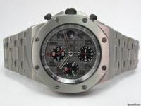 Up for sale is a Audemars Piguet Titanium Royal Oak